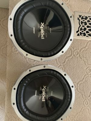 Sony xplod subwoofers for Sale in Greensburg, PA