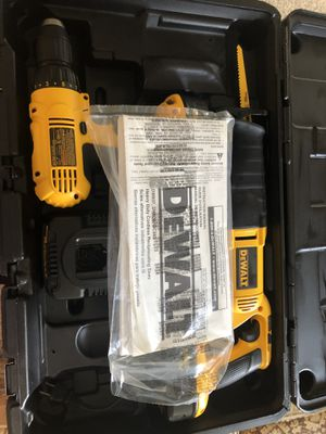 Dewalt Drill and Reciprocating Saw Set for Sale in Winchester, VA