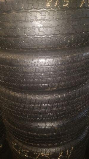 Trailer tires for Sale in GILLEM ENCLAVE, GA