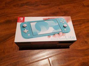 New Nintendo Switch Lite - Turquoise for Sale in Ashburn, VA