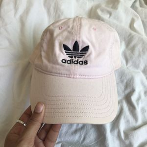 Adidas Logo Soft Pink Hat for Sale in Los Angeles, CA
