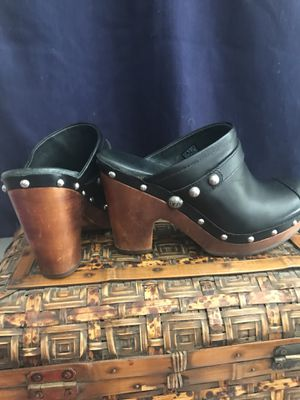 Uggs Leather/Shearling Clogs for Sale in Sterling, VA