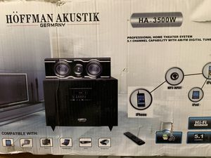 Hoffman Akustik 5.1 Surround receiver amplifier for Sale in Aliquippa, PA