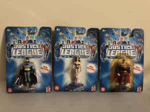 """Justice League Toy """"Unlimited"""" Metal collection for Sale in Fullerton, CA"""