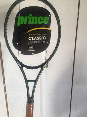 Prince Classic Graphite 100 Tennis Racket for Sale in Walnut, CA