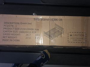 Queen bed frame for Sale in San Bernardino, CA