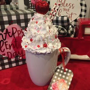 Faux Whipped Cream Topper And White Mug for Sale in Graham, WA