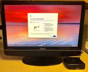 Asus gaming Monitor with Asus mini Pc ssd very fast computer for Sale in North Las Vegas, NV