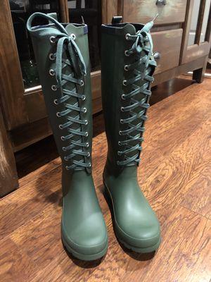 Lemon rain boots for Sale in Houston, TX