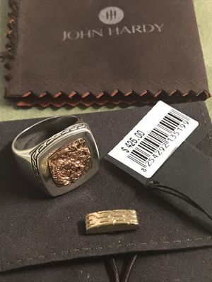 John Hardy Naga Dragon Men's Signet Ring Size 10 $425 Retail Sterling Silver .925 for Sale in Monterey Park, CA