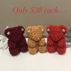 Mini Rose bears $38 EACH for Sale in Sacramento, CA
