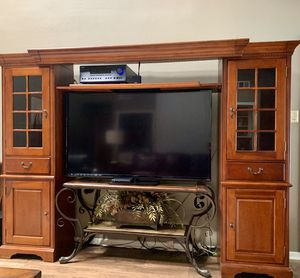 Entertainment Center with Bridge to expand to size for Sale in Houston, TX