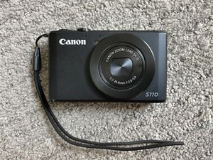 Canon S110 Powershot Camera for Sale in Austin, TX