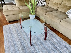 Minimalist Glass Coffee Table & Side Table for Sale in San Diego, CA
