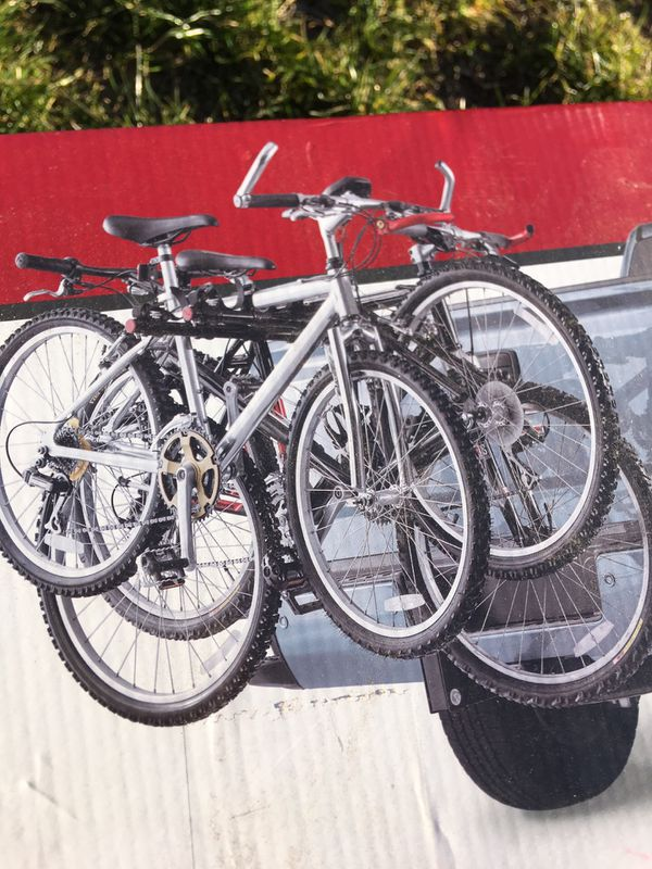 Folding 4 bike carrier