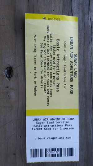 Urban Air ticket for Sale in Crosby, TX