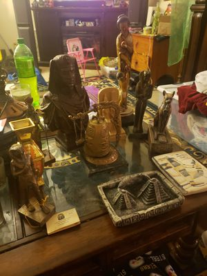Egyptian items and statues. Make offer per item or all for Sale in Spartanburg, SC