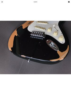 Vintage Relic fender style electric guitar for Sale in Oceanside, CA