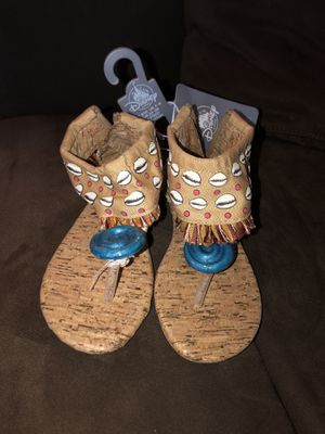 NEW w/Tags-Disney Moana Sandal Shoes-Size 9/10 for Sale in Bothell, WA