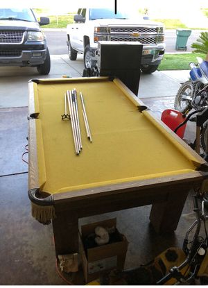 Pool table for Sale in Tulare, CA