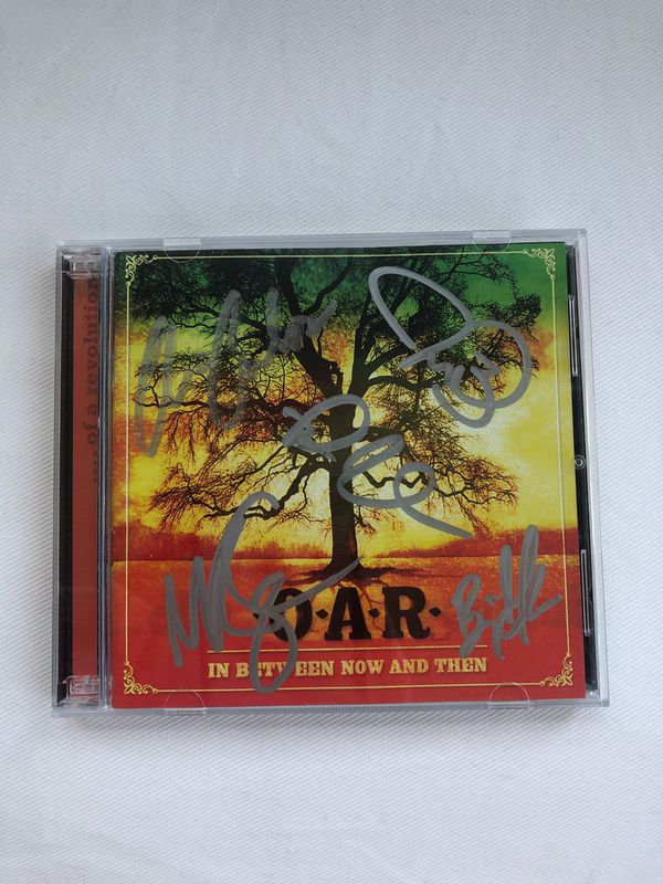 Autographed O.A.R. CD - In Between Now and Then