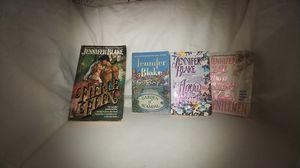Jennifer Blake Lot of 4 books: Fierce Eden, Garden of Scandal,Arrow to the Heart, Southern Gentlemen Used for Sale in La Habra Heights, CA