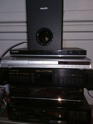 Stereo stuff/ 2 DVD players for Sale in Brooklyn, OH