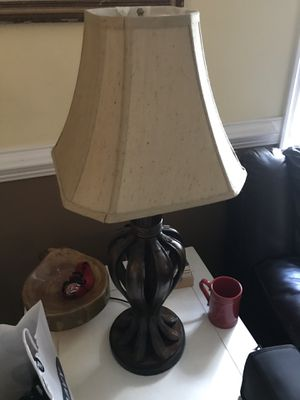 Lamp from Lowe's 18.5 height by 7.5 width for Sale in Mechanicsville, VA