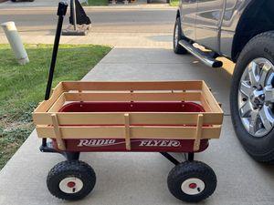"Radio Flyer 34"" All Terrain Steel & Wood Wagon for Sale in Sacramento, CA"