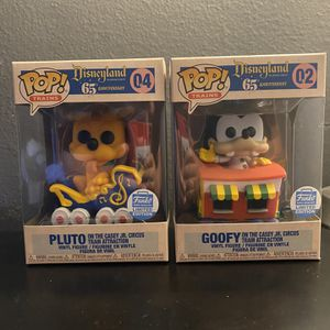 Goofy AND Pluto on Casey Jr Train for Sale in Garden Grove, CA
