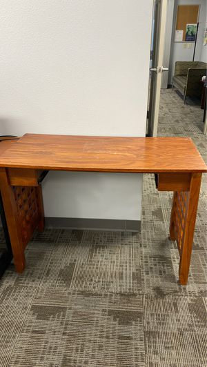 Wooden desk (free) for Sale in Denver, CO