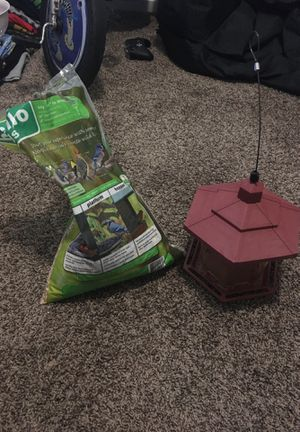Bird Feeder with Seeds for Sale in Waxahachie, TX