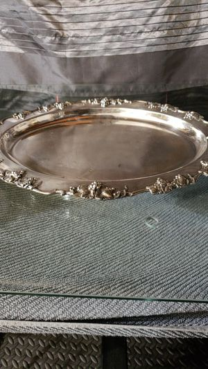 Barbour s.p. co. Silver tray for Sale in San Jose, CA