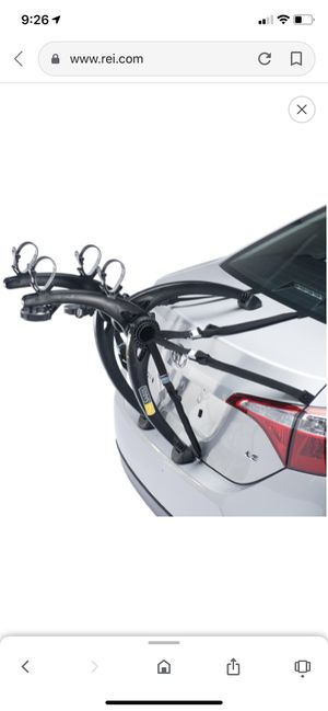 Saris Bones 2-Bike Trunk Rack for Sale in Katy, TX