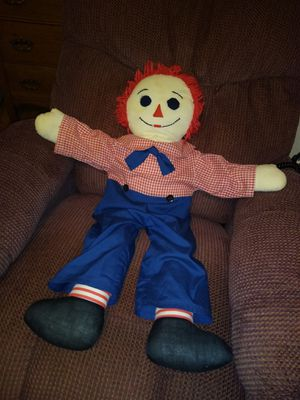 Raggedy Andy doll for Sale in Tampa, FL