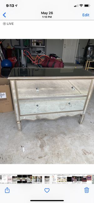 Mirrored dresser for Sale in Spring, TX