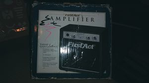 First Act Guitar Practice Amplifier, Black for Sale in Sacramento, CA