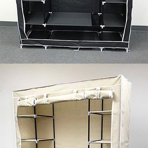 """Brand New $35 each Fabric Wardrobe Closet Storage Clothes Organizer 60x17x68"""" (3 Colors) for Sale in Whittier, CA"""