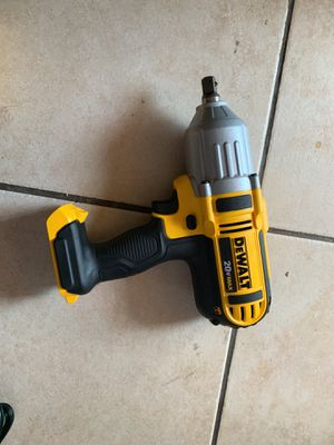 Half inch impact wrench 20v new for Sale in Phoenix, AZ