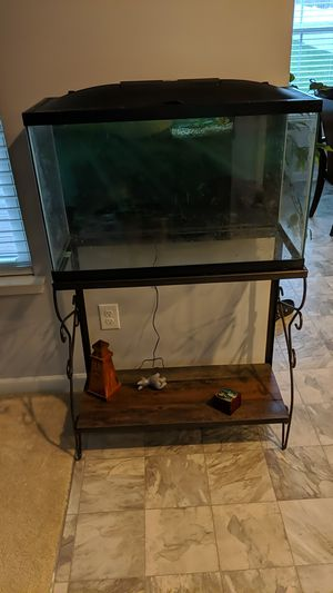 29 gallon fish tank with stand and LED hood for Sale in Bellevue, TN
