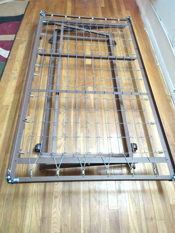 Iron Bed Twin Size with Adjustable heights