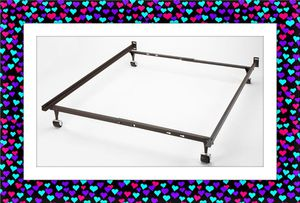 Metal bed frame twin full or queen for Sale in NEW CARROLLTN, MD