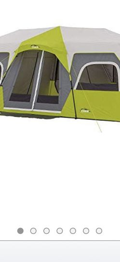 Core 12 Person Dark Stone Grey Super Cabin 3 Room Tent Cabin Retails On Amazon For $1002 Under The STONE GREY LAST FOREVER TENT for Sale in Huntington Beach,  CA