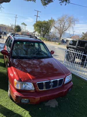 2002 SUBARU FORESTER S SPORT UTILITY 4D for Sale in Rancho Cucamonga, CA