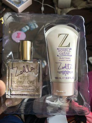 Zoella Vanilla Perfume and Lotion Set for Sale in Azusa, CA