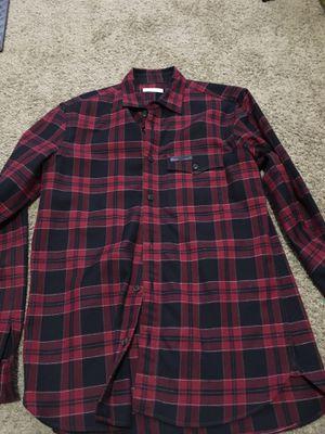 Mens long shirt Burberry for Sale in Falls Church, VA