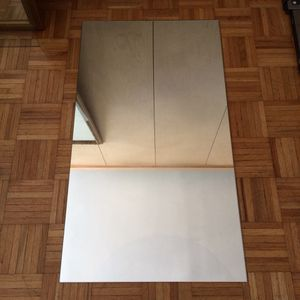 """Glass Pane & Mirror same size 22.5""""x40.5""""x2/8"""" could be for table top for Sale in New York, NY"""