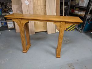 Oak Server Table - new, local built for Sale in Riverview, FL