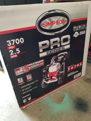 SIMPSON PowerShot 3700psi 2.5 GPM Honda Engine Pressure Washer for Sale in San Jacinto, CA