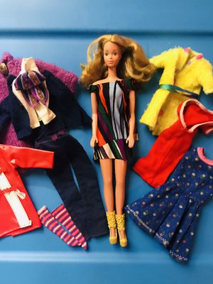 Vintage PJ doll and clothes (Barbie/Mattel) for Sale in Garland, TX